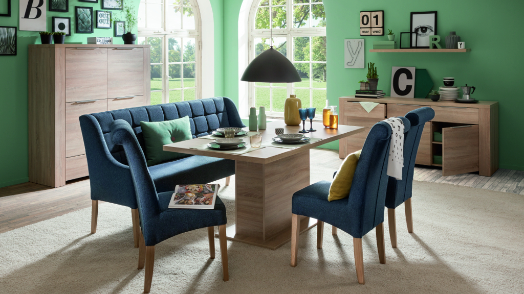 beautiful esszimmer blau #4: Esszimmer